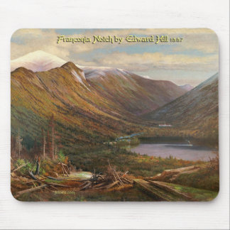 Franconia Notch by Edward Hill, 1887 Mouse Pad