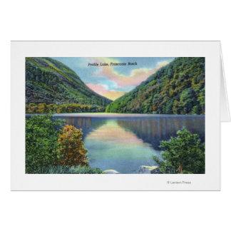 Franconia Notch View of Profile Lake Card