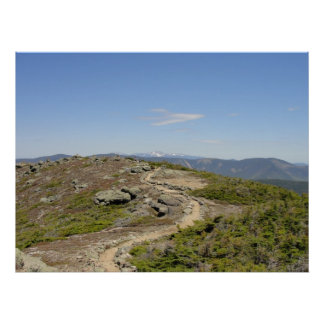 Franconia Ridge Trail, New Hampshire Poster