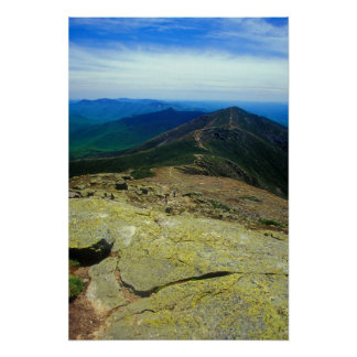 Franconia Ridge Trail White Mountains Poster