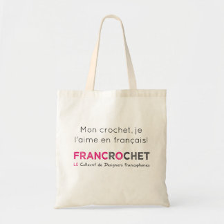 FRANCROCHET - fans of French hook Tote Bag