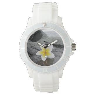 Frangipani Beach Wrist Watch