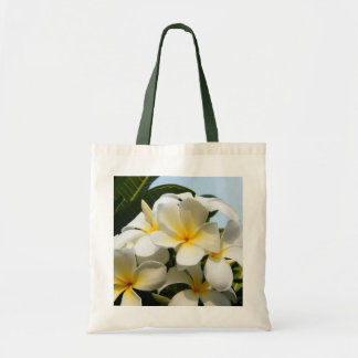 Frangipani Bliss Tote Bag