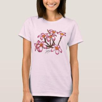 Frangipani Flowers T-Shirt