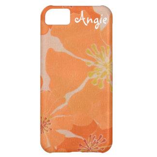 Frangipani Hawaiian Plumeria Tropical Beach Luau iPhone 5C Covers