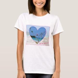 Frangipani Heart T-Shirt