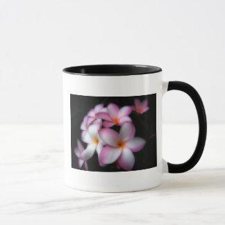 Frangipani in bloom Mug