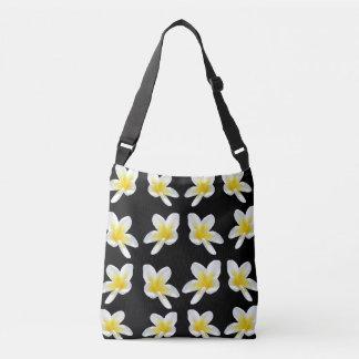 Frangipani Sensation, Full Print Cross Body Bag