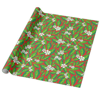 Frangy Pangs red Wrapping Paper