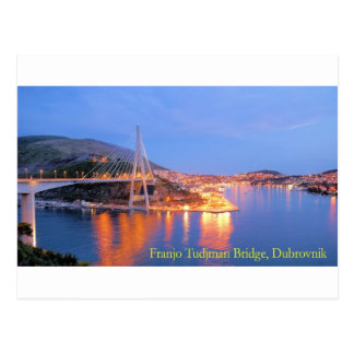 Franjo Tudjman Bridge 1 Postcard