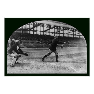 Frank Chance Baseball 1913 Poster
