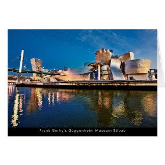 Frank Gerhy's Guggenheim Museum Bilbao Card