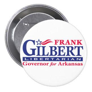 """Frank Gilbert 3"""" 3 Inch Round Button"""