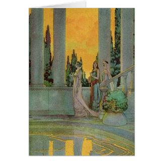 Frank Godwin, Illustrator. 'The Blue Fairy' 1931 Card