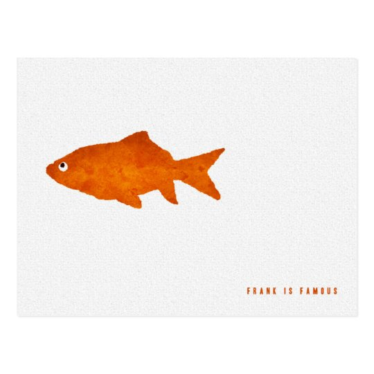 Frank is Famous Postcard