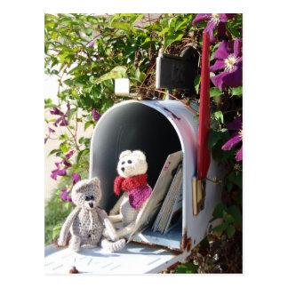 Frank&Lennart mailbox Postcard