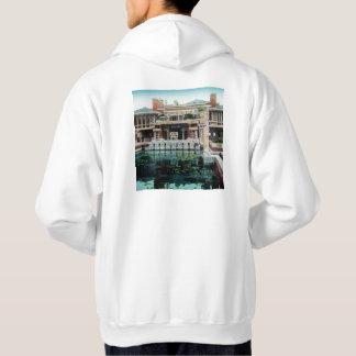Frank Lloyd Wright Imperial Hotel Japan Vintage Hoodie