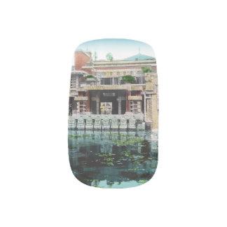 Frank Lloyd Wright Imperial Hotel Japan Vintage Nail Sticker