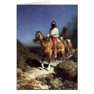Frank Tenney Johnson Western Art Card