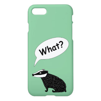 Frank the badger, character for iPhone7 green iPhone 8/7 Case