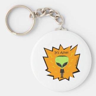 Franken Alien Keychain