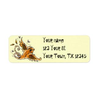 Frankenbird Address Lables Return Address Label