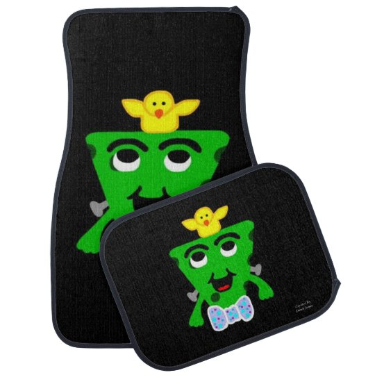 FrankenCheese Easter Car Mats Full Set