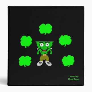 FrankenCheese St. Patrick's Day!  3 Ring Binder
