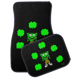FrankenCheese St. Patrick's Day Car Mats Full Set Car Carpet
