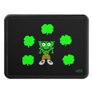 FrankenCheese St. Patrick's Day Trailer HitchCover Trailer Hitch Cover