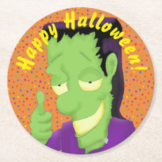 Frankencool Halloween Coasters