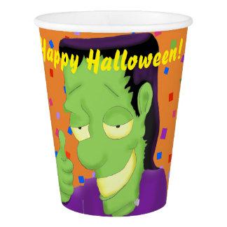 Frankencool Halloween Paper Cups