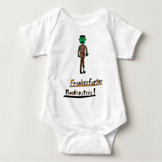 Frankenfurter-Frankenstein Baby Bodysuit