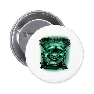 Frankenstein 2 Inch Round Button