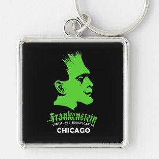 Frankenstein, Bar, Disco, Chicago, Illinois Keychain