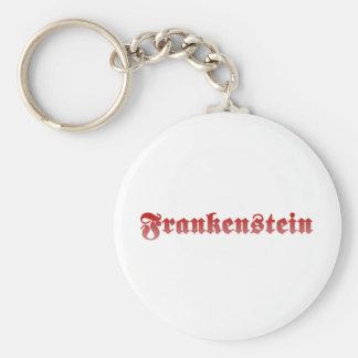 Frankenstein Basic Round Button Keychain