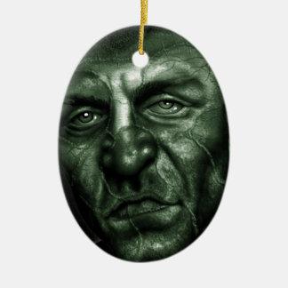 Frankenstein Ceramic Oval Ornament