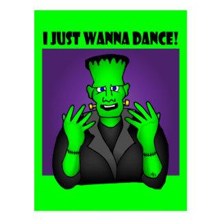 FRANKENSTEIN DANCE-1w Postcard
