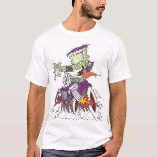 Frankenstein Drag Racing T-Shirt