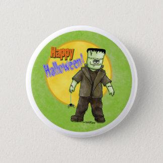 Frankenstein Halloween 2 Inch Round Button