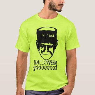 Frankenstein Halloween Good funny shirt