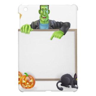 Frankenstein Halloween Sign Covers For iPad Mini