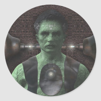 Frankenstein - Halloween Stickers