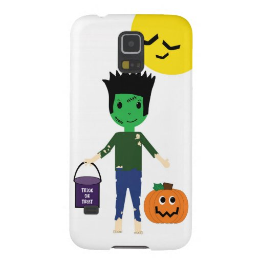 Frankenstein Halloween Trick or Treat Galaxy S5 Galaxy S5 Covers