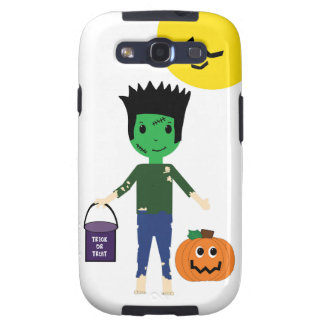 Frankenstein Halloween Trick or Treating Galaxy S3 Galaxy S3 Cases