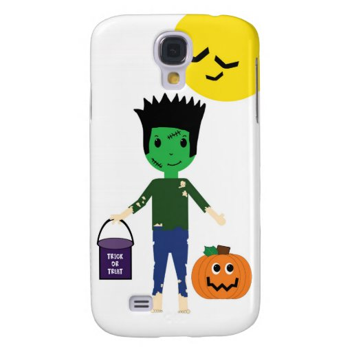 Frankenstein Halloween Trick or Treating Galaxy S4 Samsung Galaxy S4 Covers