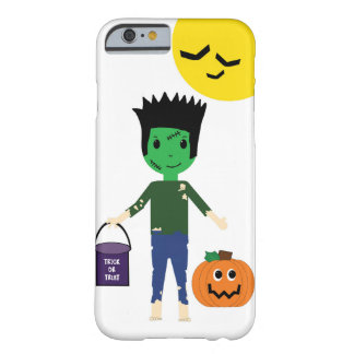 Frankenstein Halloween Trick or Treating iPhone 6 Barely There iPhone 6 Case