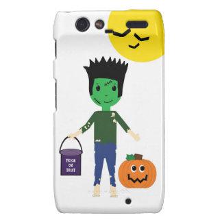 Frankenstein Halloween Trick or Treating Razr Droid RAZR Cases