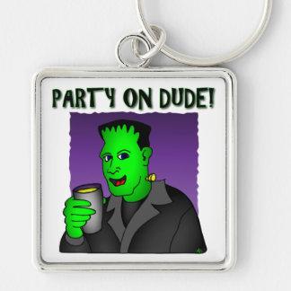 Frankenstein Keychains & Flair