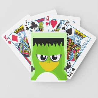 Frankenstein Penguin Bicycle Playing Cards